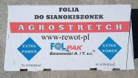 Folia do sianokiszonki AGROSTRETCH 500x25